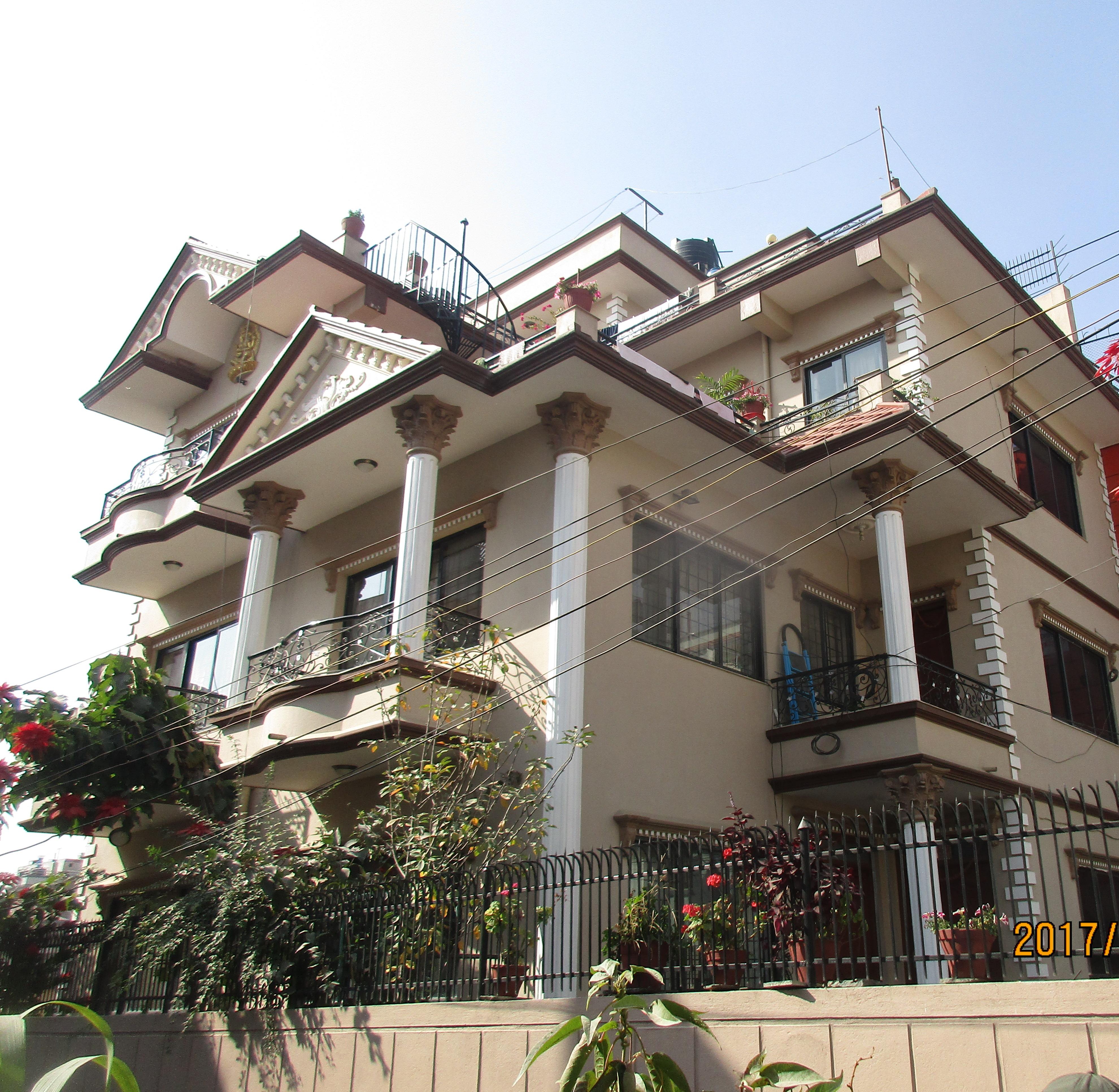 back side of Green city Hospital, Samakhusi1